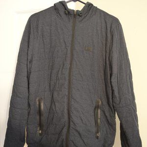 NWOT Abercrombie Quilted Hooded Jacket